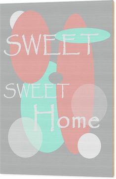 Jenny Rainbow Fine Art Wood Print featuring the photograph Sweet Sweet Home by Jenny Rainbow Sweet Sweet, Sweet Home, Shabby Chic Style, Got Print, New Wave, Fine Art America, Photographic Prints, Rainbow, Wood