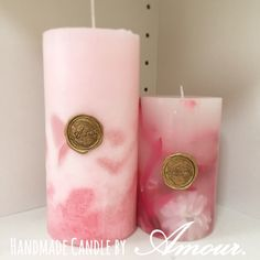 L:Standard Candle(L) R:Flower Candle