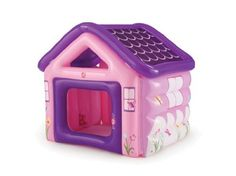 Step2 Playhouse by Step2. $24.29. Features an opening side wall. Deflates and stores easily. Large interior space. From the Manufacturer                Inflatable fun for active minds and bodies alike. Features an opening side wall and large interior space. It deflates for wasy storage.                                    Product Description                Great for outdoor and indoor play, this playhouse provides inflatable fun for active minds and bodies alike. The soft yet dura...