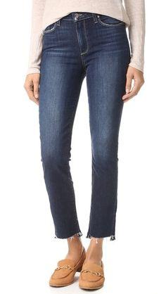 PAIGE Jacqueline Straight Jeans   SHOPBOP