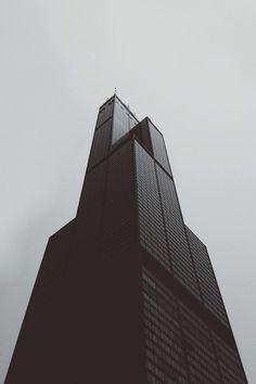 Willis Tower/ Sears Tower. Chicago, Illinois.   Fazlur Khan, Bruce Graham. 1970
