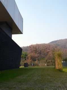Sifang Art Museum. 2003.  Nanjing, Jiangsu, China. Steven Holl. Photo by Evan Chakroff