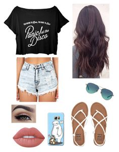 """""""Summer Alternative"""" by kristenbreannn on Polyvore featuring Tiffany & Co., Billabong, Lime Crime and Casetify"""