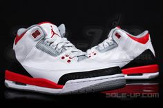 air jordan iii fire red gs 1 Air Jordan III GS Fire Red