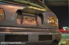Honda Civic Coupe, Honda Civic Hatchback, Kei Car, Classic Japanese Cars, Sticker Bomb, Osaka Japan, Custom Cars, Cars And Motorcycles, Tokyo
