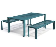 guyon table pique nique metal Basik mobilier urbain