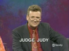 Judge Greg Proops Judy Cartoon Network Adventure Time, Adventure Time Anime, Greg Proops, Judge Judy, Whose Line, People Of Walmart, The Phantom Menace, Nick Miller, Stand Up Comedians