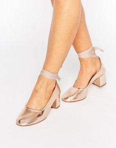 KG - Treacle - Scarpe con tacco allacciate alla caviglia
