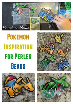 Over 500 Pokemon and Minecraft Perler Fuse beads patterns. Fun for hours on end. Everything you need to get started!