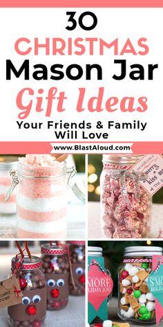 Mason Jar Christmas Gifts, Mason Jar Gifts, Homemade Christmas Gifts, Mason Jar Diy, Christmas Goodies, Homemade Gifts, Christmas Fun, Christmas Baking, Diy Gifts