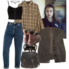 grunge outfits Post with 2882 views. Punk Outfits, Hipster Outfits, Fall Outfits, Grunge School Outfits, Cute Grunge Outfits, Hipster Goth, Hipster Jeans, Hipster Clothing, Women's Clothing