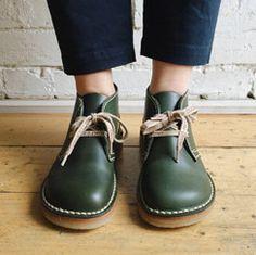 Duckfeet. Handmade, leather, Danish design unisex shoes in Fitzroy.
