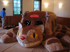 OMG I've seen this in person! It's at the Ghibli Museum outside of Tokyo. :)