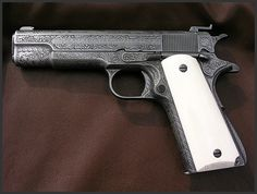 Colt Model 1911 Ace by Engraver Dennis Reigel