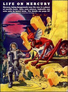Vintage sci-fi.