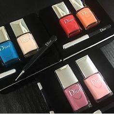 Dior Summer 2016 nail polishes