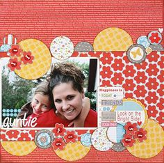 Love all these circles. Layout by Stephanie Hunt circle punch scrapbook layout Baby Scrapbook, Scrapbook Paper Crafts, Scrapbook Cards, Scrapbook Photos, Wedding Scrapbook, Paper Crafting, Scrapbooking Digital, Scrapbooking Photo, Scrapbook Sketches