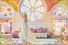 Tim + Merrill Melideo rented some moroccan pieces from us + put together this super rad boho shoot!