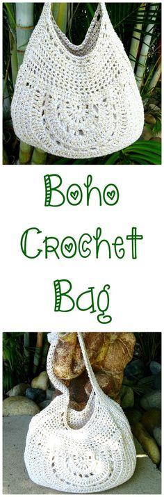 Crochet Bag | Beach Bag | Shoulder Bag | Boho Bags | Tote Bag Cotton | Crochet Bag Boho | Boho Bag Big | Totebag | Handmade Bag | Cotton Bag