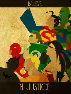 DC Comics: Believe // artwork by Kerrith Johnson (2012)