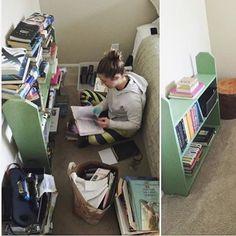 Before and After tidying! 👌🏼 Via @livingbetterwithless  #sparkjoy #lifechanging #magic #tidy #bookshelf #konmari #konmarimethod #books #newyear