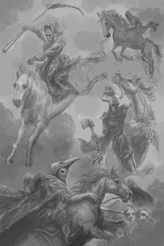 WIP The Four Horsemen by Entar0178