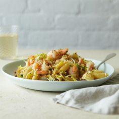 Lemony Shrimp Pasta Salad   Shine Food - Yahoo Shine