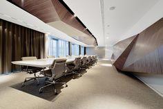 Innocean Headquarters Europe, Frankfurt. Ein Projekt von Ippolito Fleitz Group – Identity Architects.