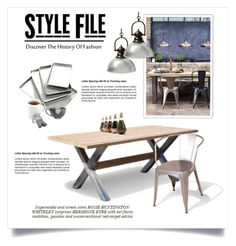 Industrial Style by viva-12 on Polyvore featuring interior, interiors, interior design, home, home decor, interior decorating, Tolix, Nordic Ware, Fred & Friends and Juliska
