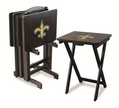 Use this Exclusive coupon code: PINFIVE to receive an additional 5% off the New Orleans Saints TV Trays at SportsFansPlus.com