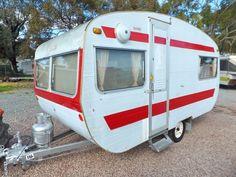 Vintage Australian Franklin Caravan