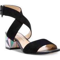 Katy Perry Margot Block-Heel Sandals - Black 6.5M