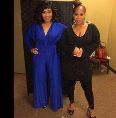 Erica and Tina Campbell (Mary Mary)