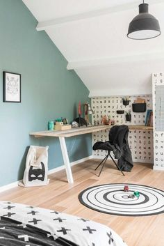 Four Attic Renovation Ideas to Give New Life to Unused Space - Attic Basement Ideas Girls Bedroom, Bedroom Decor, Small Home Offices, Gravity Home, Teenage Room, Attic Renovation, My New Room, Home Staging, Boy Room