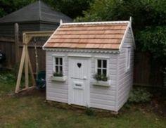 Spielhaus mit Schaukel  Mit unseren Spielhäusern aus Holz wird das Spielen zum Erlebnis  Schönes Spielhaus mit Schaukelgerüst aus erstklassige und hochwertige Qualität.  Spielhaus auch Lieferbar oh...