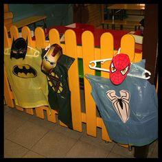 Disfraces fiesta superheroes