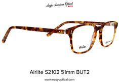 Airlite S2102 51mm BUT2 Sunglasses, American, Shades, Eyewear