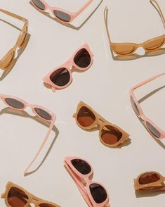 Carla Colour Cateye Sunglasses @thedreslyn