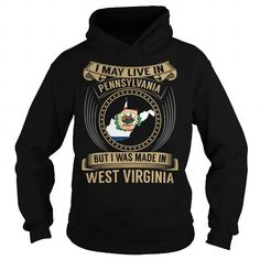 Live in Pennsylvania - Made in West Virginia - Special #state #citizen #USA # West Virginia #gift #ideas #Popular #Everything #Videos #Shop #Animals #pets #Architecture #Art #Cars #motorcycles #Celebrities #DIY #crafts #Design #Education #Entertainment #Food #drink #Gardening #Geek #Hair #beauty #Health #fitness #History #Holidays #events #Home decor #Humor #Illustrations #posters #Kids #parenting #Men #Outdoors #Photography #Products #Quotes #Science #nature #Sports #Tattoos #Technology…