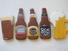 All you need is love (or beer)... :D - Cookie Couture by Sarah