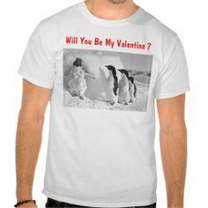 Happy Valentines Day Funny Penguin Valentine