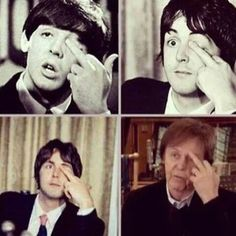 Paul McCartney displays a subtle communication technique, employable across decades