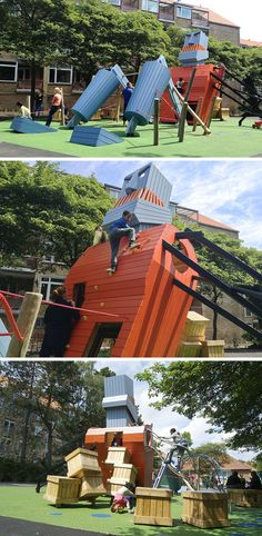 15 Creative Playground Designs You'll Wish Existed When You Were A Kid // The Monster Playground