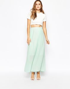 Y.A.S Tropical Maxi Skirt