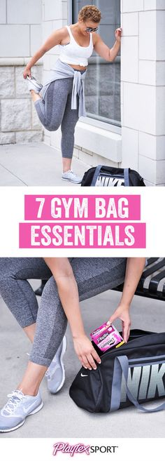 Make sure you have everything you need to crush your next workout in confidence by checking out these 7 Gym Bag Essentials. From headphones and a portable charger to an extra sports bra and Playtex® Sport® Compact®, you can never be too prepared! Plus, by picking up everything you need at Target and keeping it on-hand, you'll be ready for your exercise or training session no matter the time of the month!