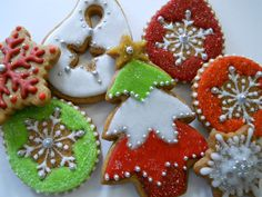 Glazed & Sugared Gingerbread Cookies   by Robin Traversy {The Cookie Faerie}
