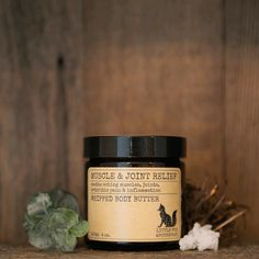 Beautiful, fluffy, whipped body butter. Soothe aching muscles, joints and arthritis pain. Helps to reduce inflammation.  Massage into affected area. Will not leave a greasy feeling.  100% natural, vegan, cruelty free Whipped Body Butter, Shea Butter, Reuse Jars, Pregnant Nurse, Amber Glass Jars, Clove Bud, Vitamin E Oil, Reduce Inflammation