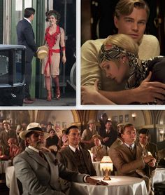 The Great Gatsby movie (2012). Hope it's good!!! They seriously can't ruin this. This shows what the new movie will look like.