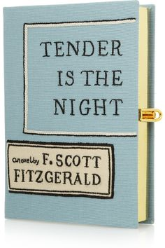 Saw this at a wedding last weekend - swoon - Olympia Le-Tan|Tender Is The Night embroidered clutch