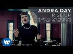 Andra Day - Rise Up [Official Music Video] [Inspiration Version] is such a beautiful song that I'm adding it as part of the Wattpad media Dreaming of You soundtrack. Music Songs, My Music, Graduation Songs, Prayer For Anxiety, Nostalgia, Day Work, Inspirational Videos, Christian Music, Along The Way
